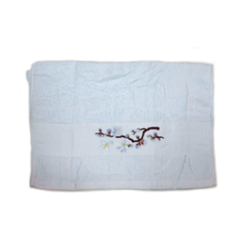 VETTA Полотенце банное, 100% хлопок, 50x100см, Sakura, синее арт FBS222-37