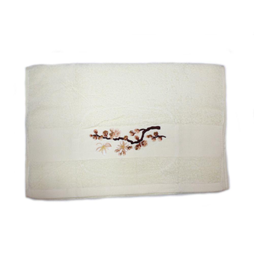 VETTA Полотенце банное, 100% хлопок, 50x100см, Sakura, жёлтое арт FBS222-37