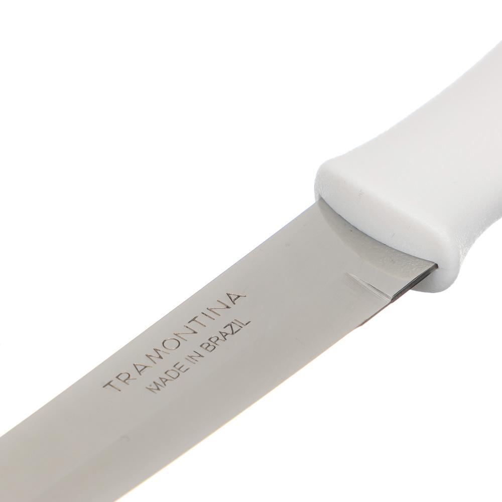Кухонный нож 12.7см, белая ручка, Tramontina Athus, 23096/085