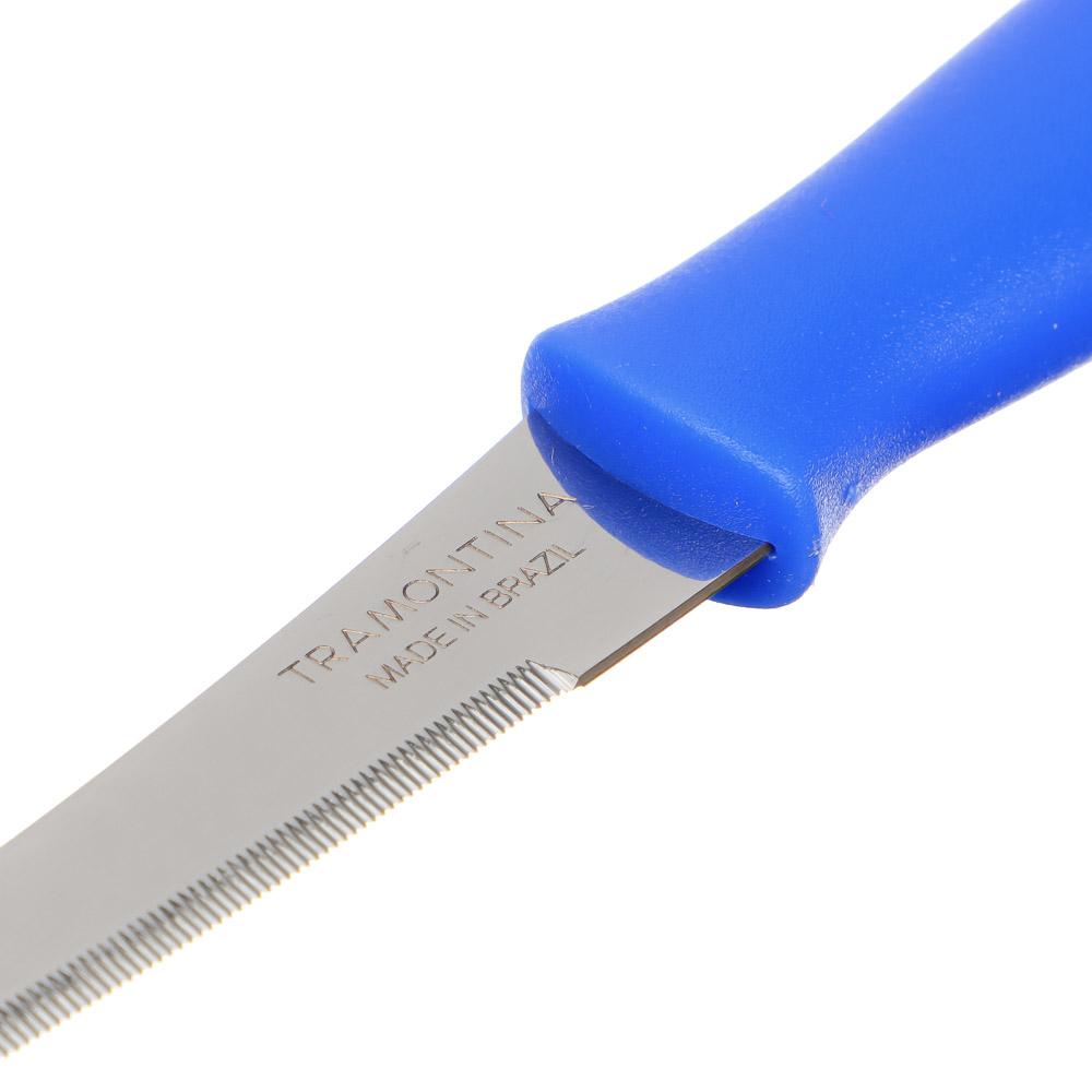 Нож для томатов 12,7 см Tramontina Athus, синяя ручка, 23088/015