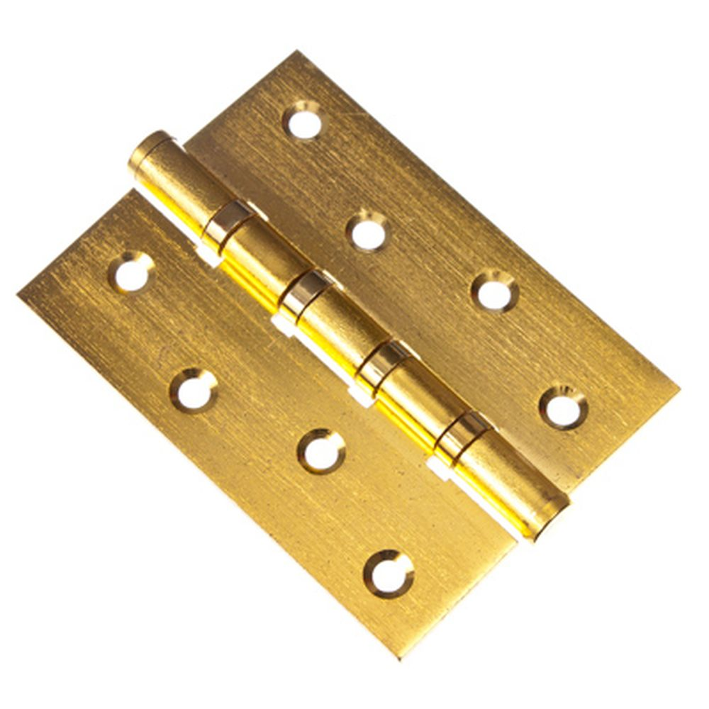 """Петля 4х3"""" 2,2мм 4ВВ sb матовое золото"""