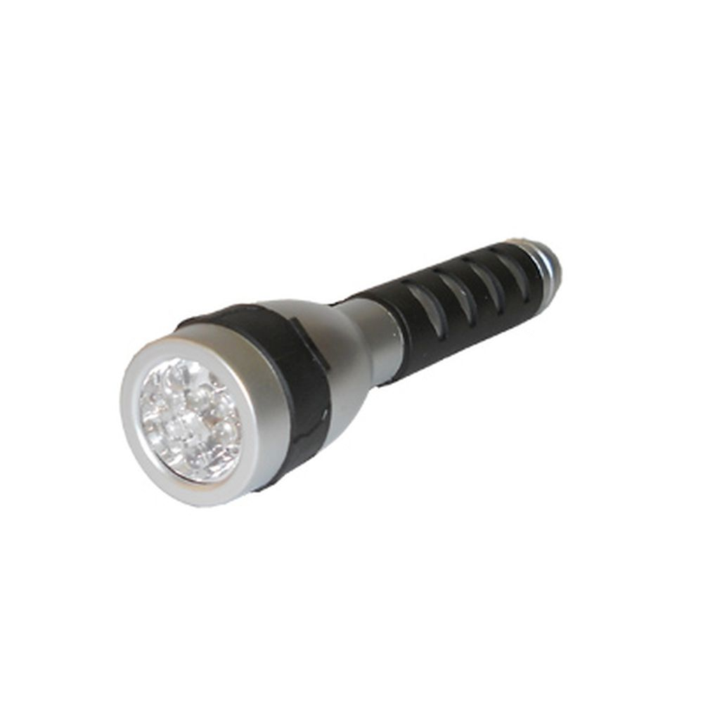 Фонарик пластик со светодиодами, арт. BL-XD11, 5 светодиодов, бат. 2хАА