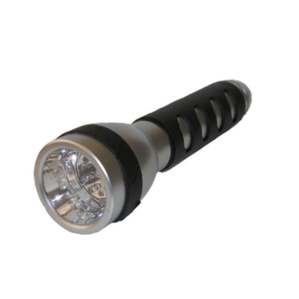 Фонарик пластик со светодиодами, арт. BL-XD31, 9 светодиодов, бат. 3хD