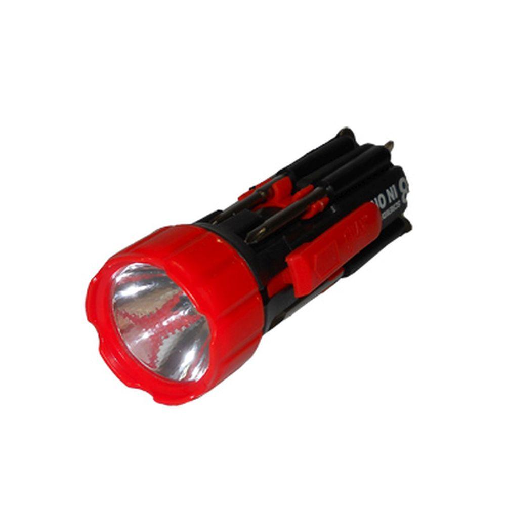 Фонарик светодиодный с инструментами, 3хААА, арт.BL-G6568