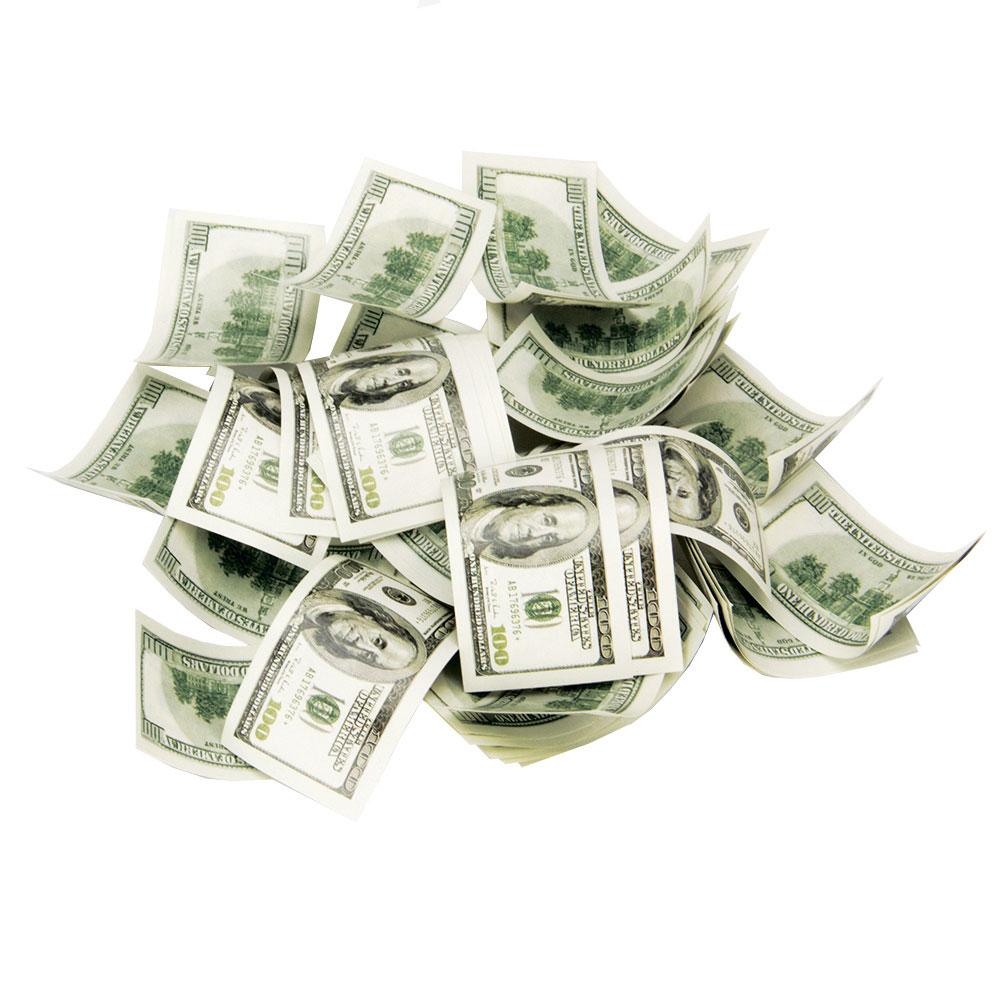 СНОУ БУМ Хлопушка пневматическая Доллары, 50см, бумага