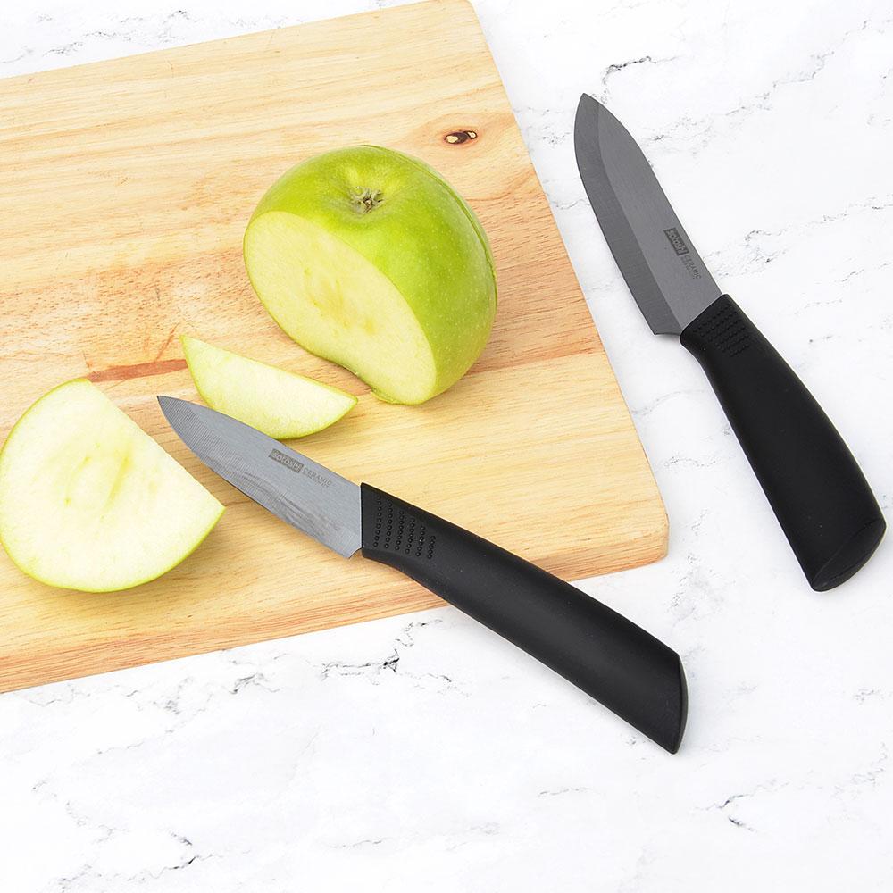 Нож кухонный, 7,5 см SATOSHI Бусидо, керамический