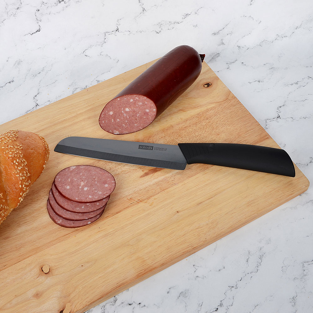 Нож кухонный 15 см SATOSHI Бусидо, керамический