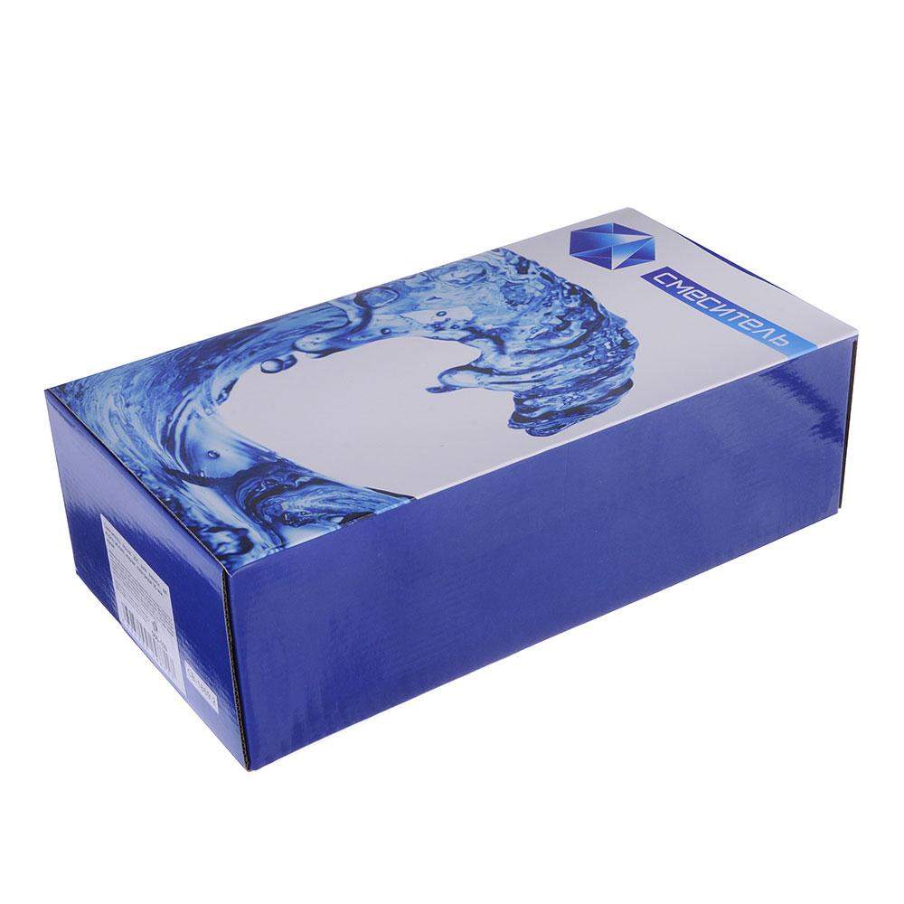 Смеситель Ascot 201 для ванны, дл. изогн. излив, керам. картридж 35 мм, хром