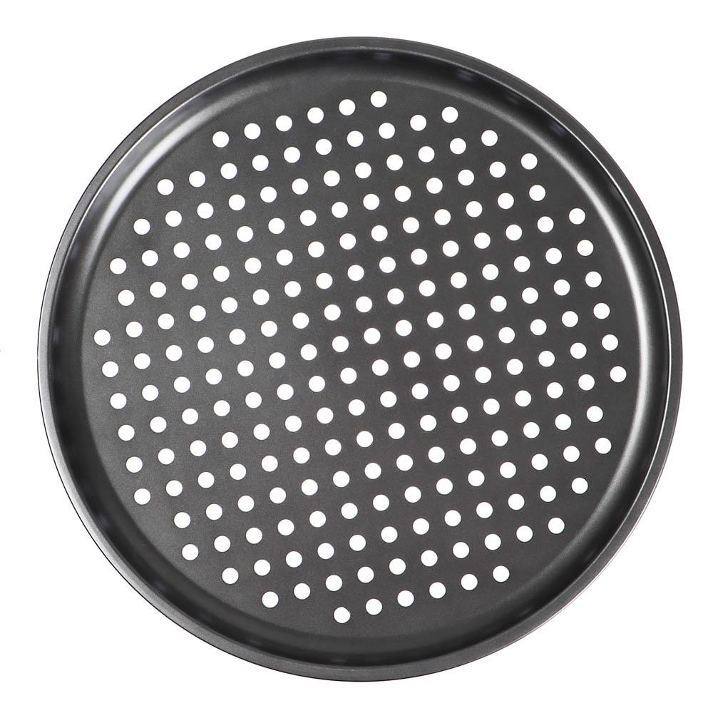 Форма для пиццы VETTA, 33,5x1 см, перфорированная