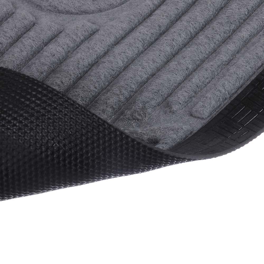 VETTA Коврик ворсовый с резиновой каймой, 40x60см, CX1024