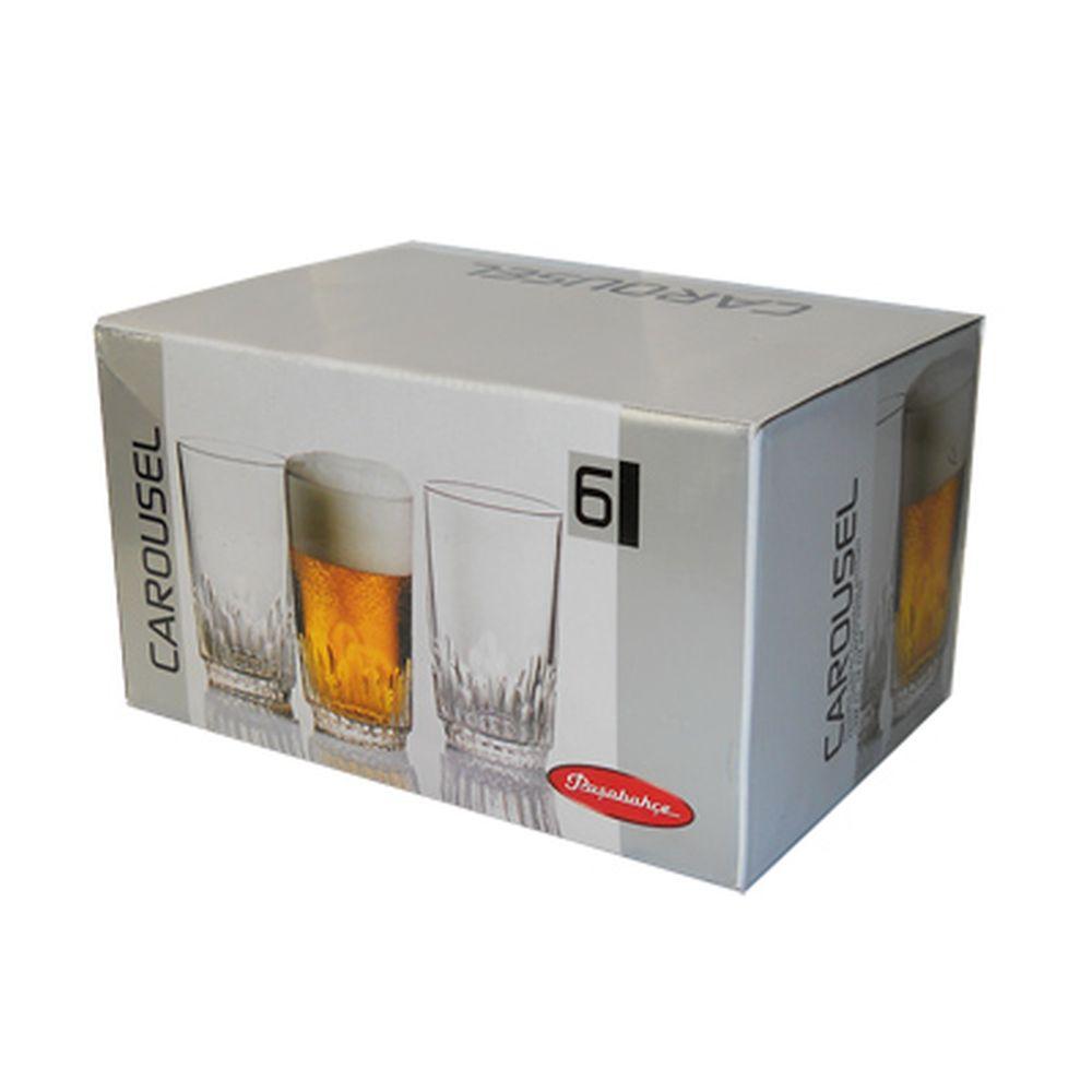 Набор стаканов 6шт, 325мл Карусель 52269