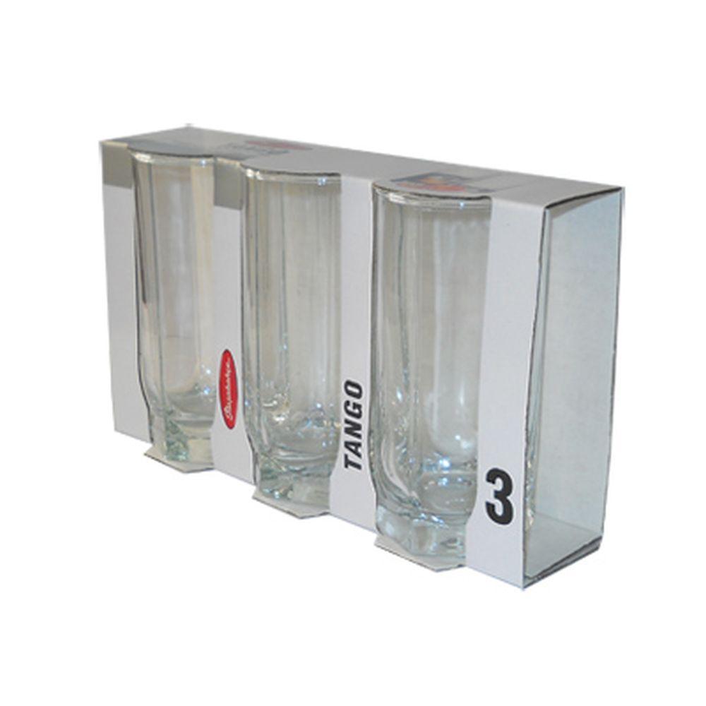 Набор стаканов 3шт, 290мл Танго 42942