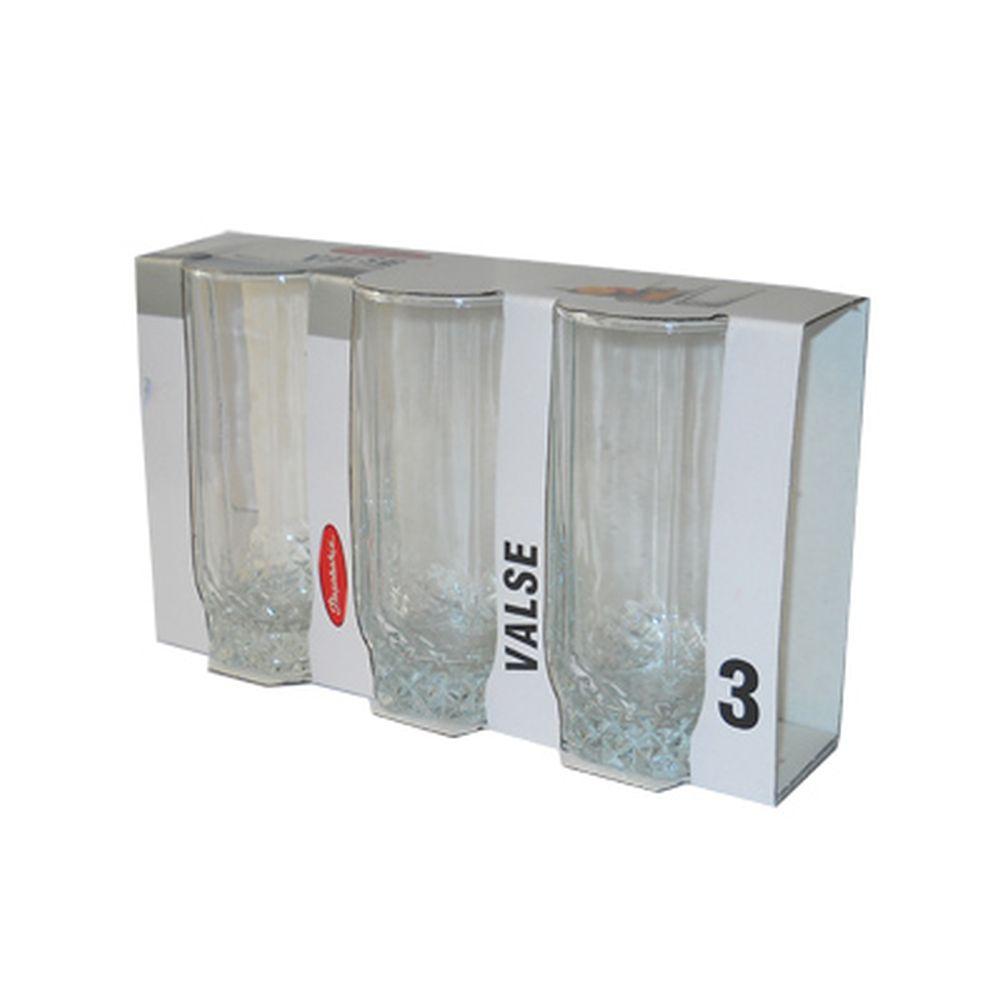 Набор стаканов 3шт, 293мл Вальс 42942