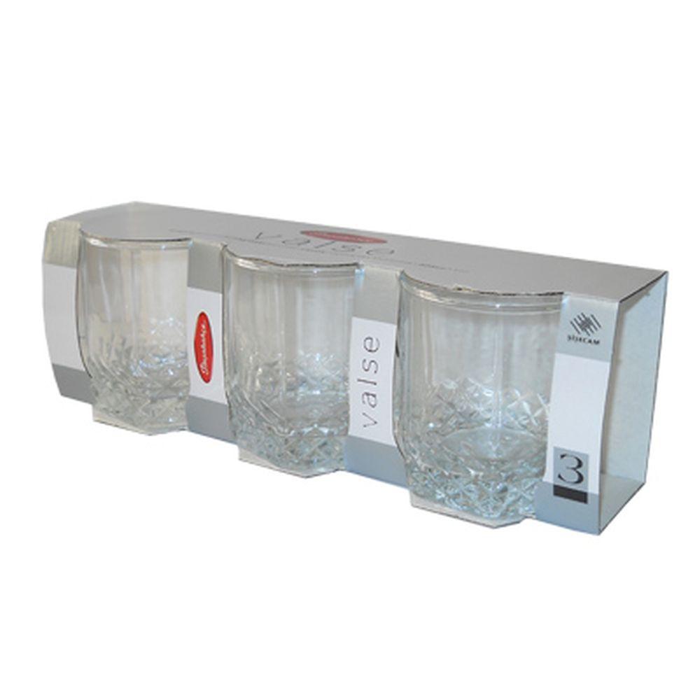 Набор стаканов 3шт, 325мл Вальс 42945