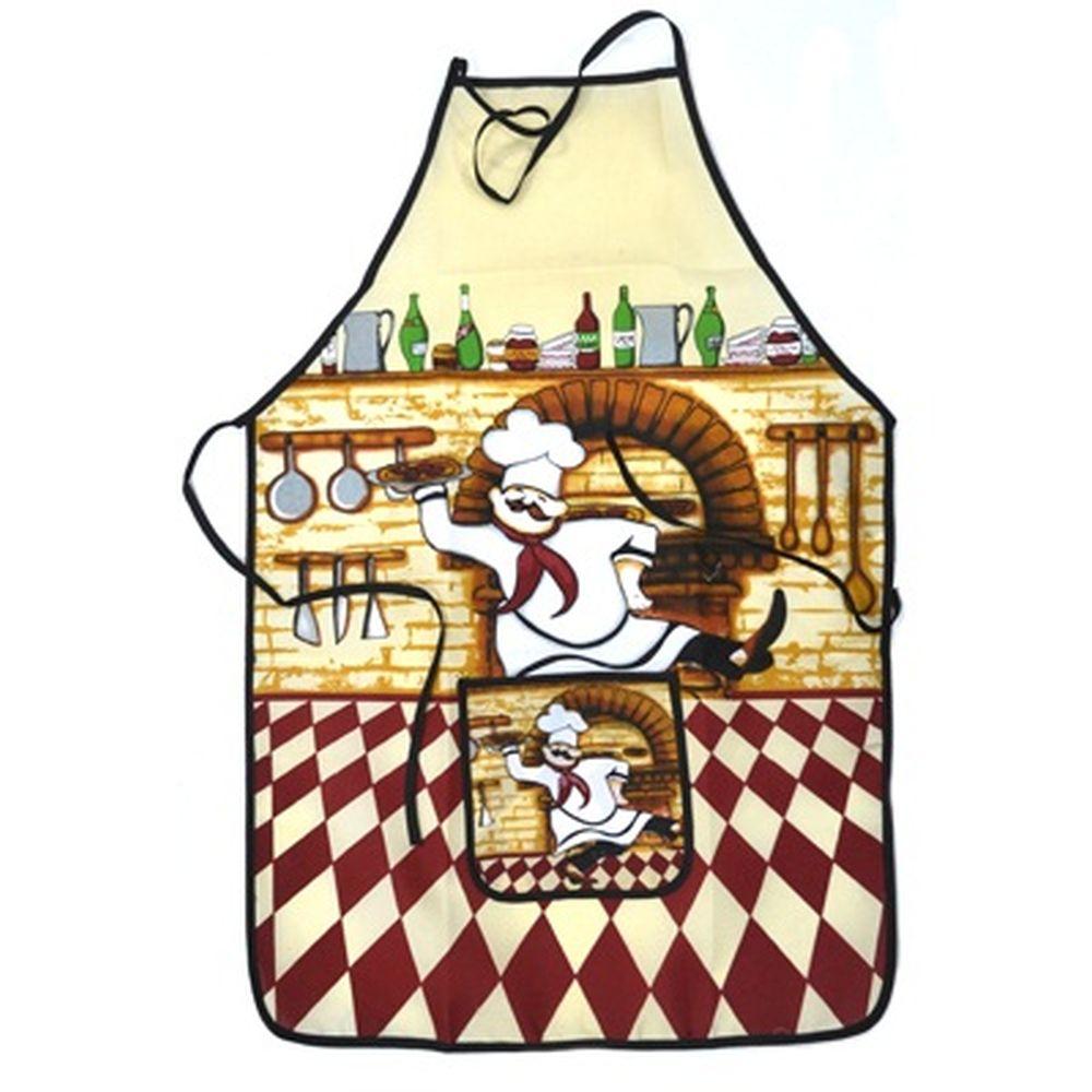 VETTA Kitchen Фартук, полиэстер, 51x76см, Italian cook