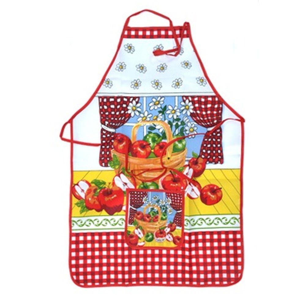 VETTA Kitchen Фартук, полиэстер, 51x76см, Apple