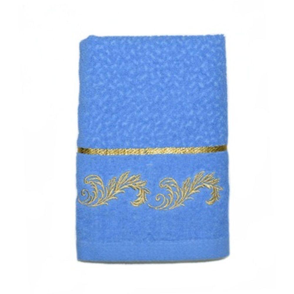 VETTA Полотенце банное, 100% хлопок, 50x100см, Барокко синее