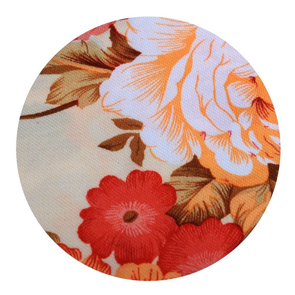 Скатерть на стол круглая, полиэстер, d140см
