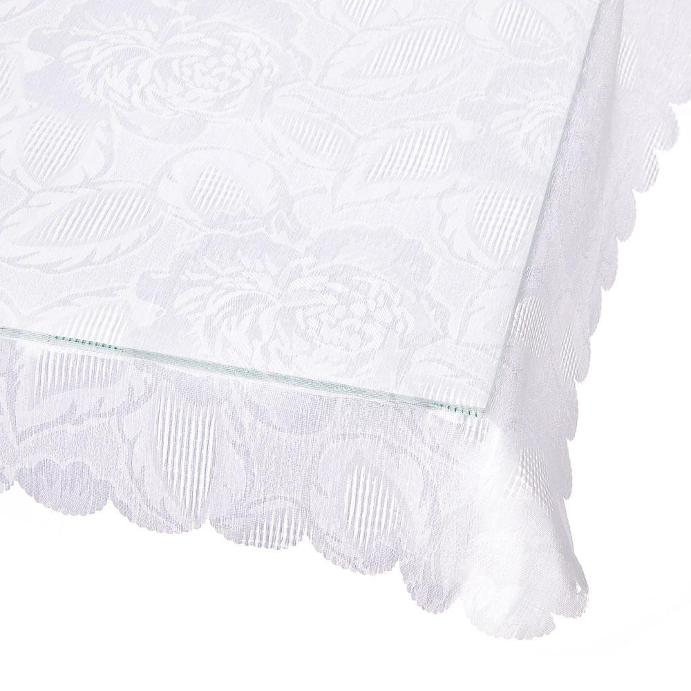 Скатерть на стол, жаккард, 145x220см