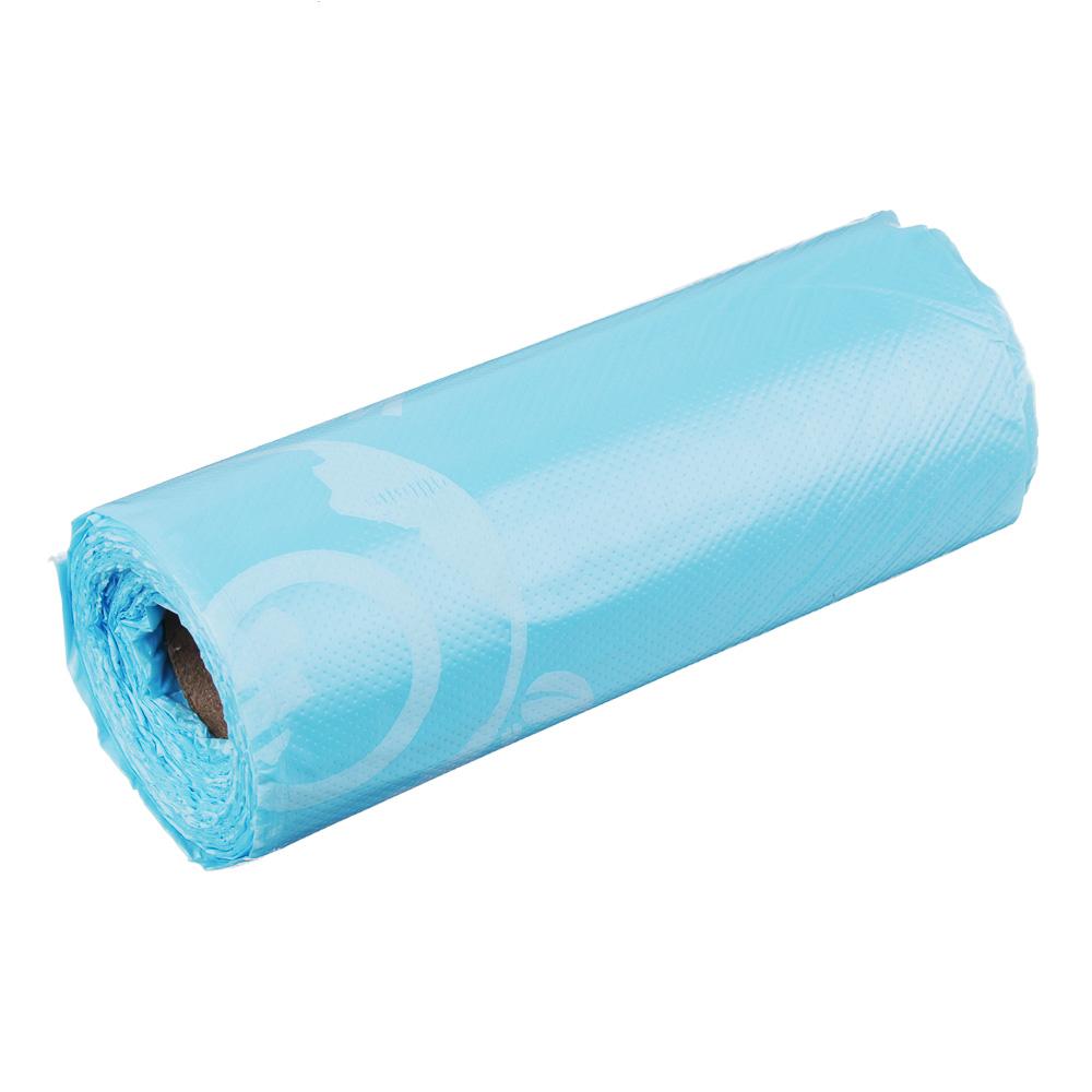 """GRIFON Мешки для мусора БИО 20шт, 30л, 50х60см, особо прочные, 12 микрон, """"Морской бриз"""", 100-035"""