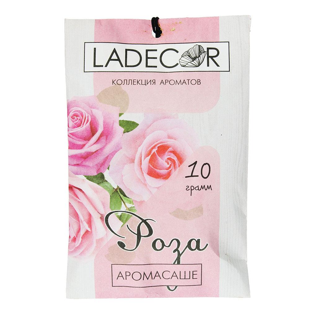 LA DECOR Аромасаше 10гр, с ароматом розы
