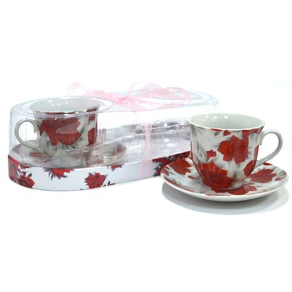 Набор чайный 4 пр. 250мл DL-F2PO-004