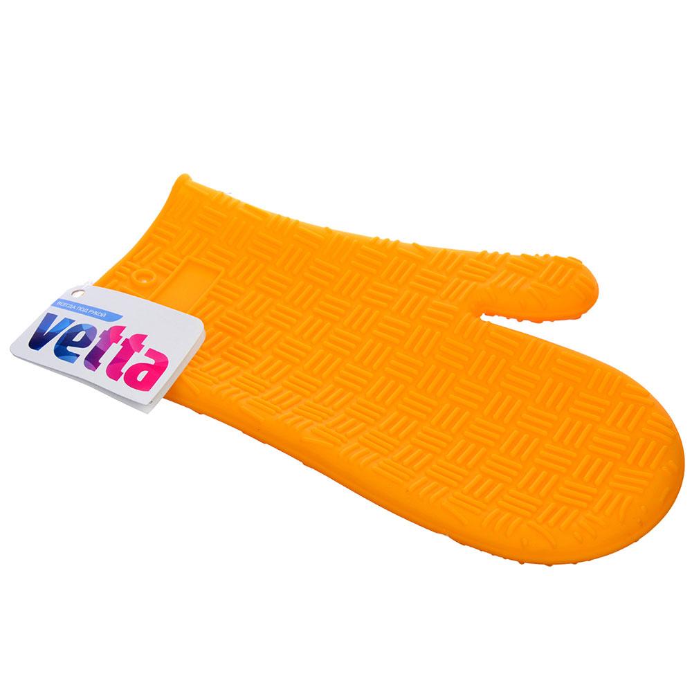 Варежка-прихватка термостойкая, силикон, VETTA