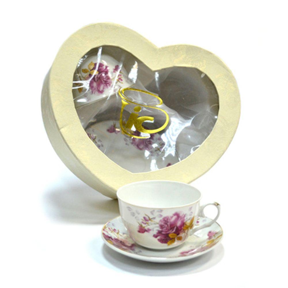 Набор чайный 4 пр. Роза 240мл 4/МВ56