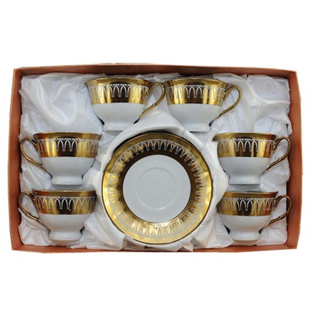 Набор чайный 12 пр. 230мл Золотой колос 30131