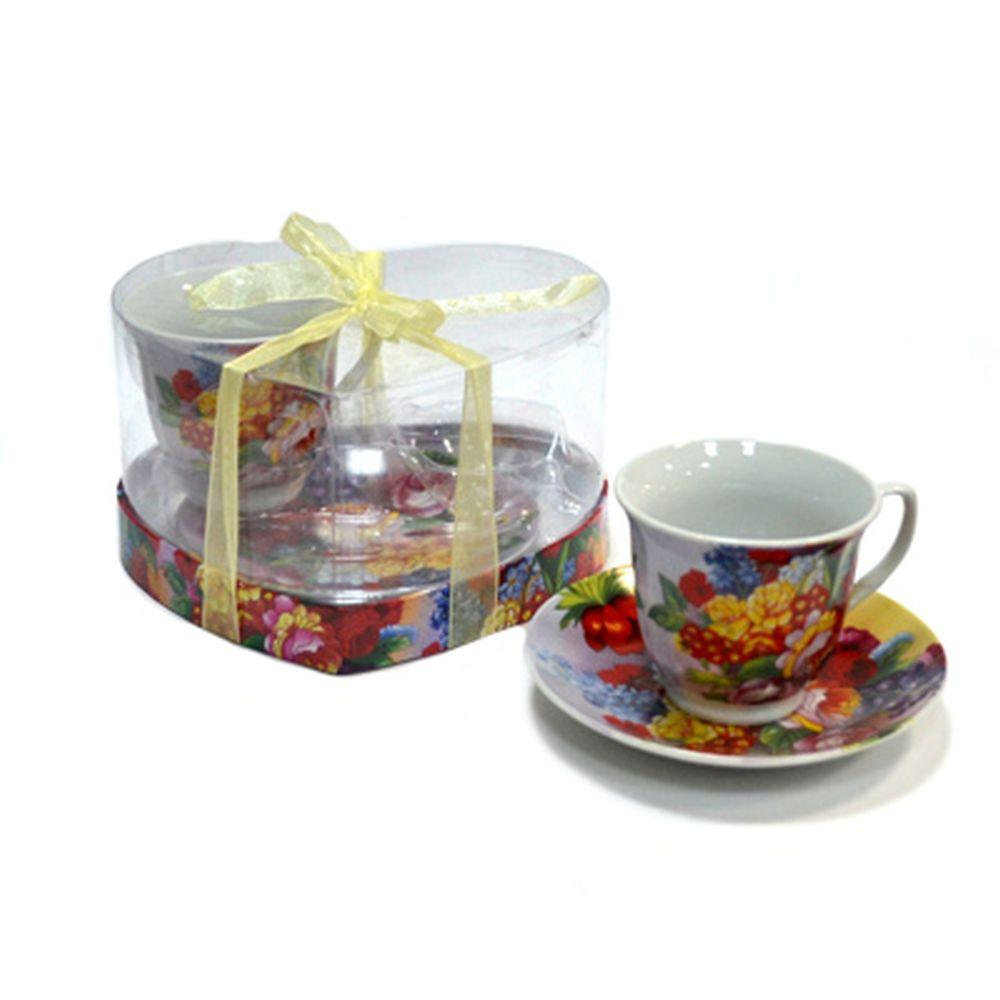 Набор чайный 4 пр. 230мл Садовый букет 30080