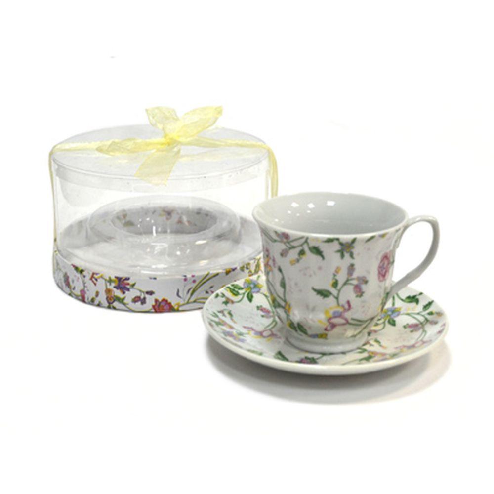 Чайная пара 230мл Полевые цветы 30045