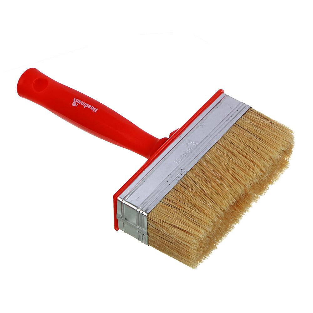 HEADMAN Кисть мини-макловица пластиковая ручка нат. щетина 40*140