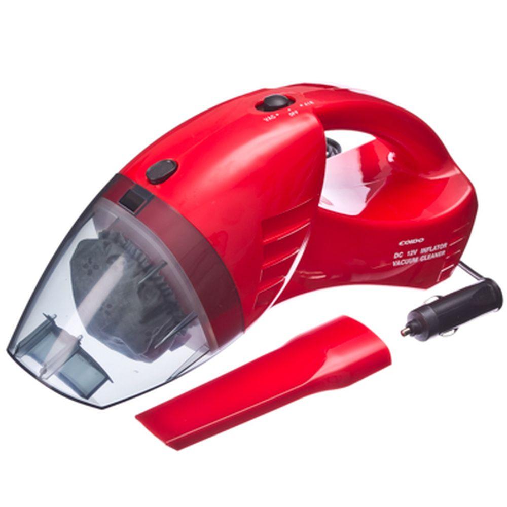 COIDO Пылесос+компрессор 6023R, красный, 144Вт, 10л/мин