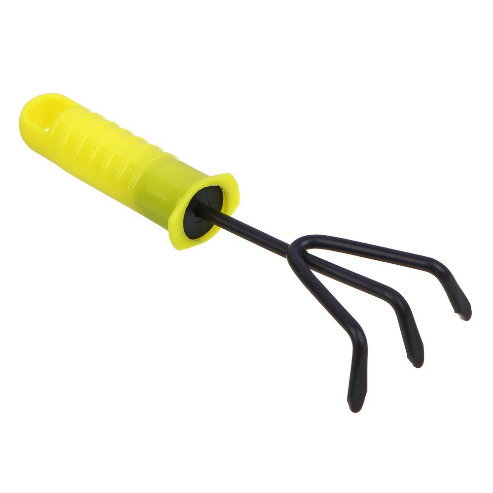 INBLOOM Рыхлитель садовый 20x7.5 см с пластиковой ручкой