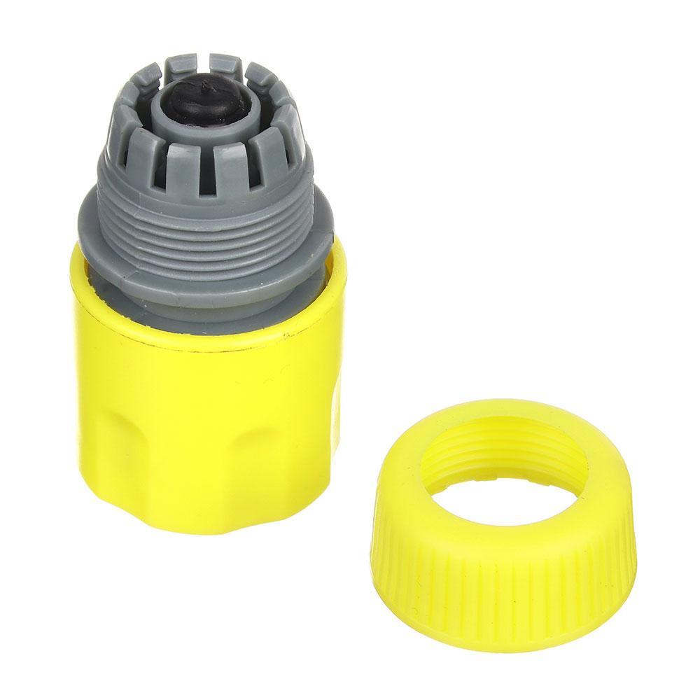 """Коннектор для шланга с аквастопом, d1/2"""", 5,5х3,5х3,5, INBLOOM"""