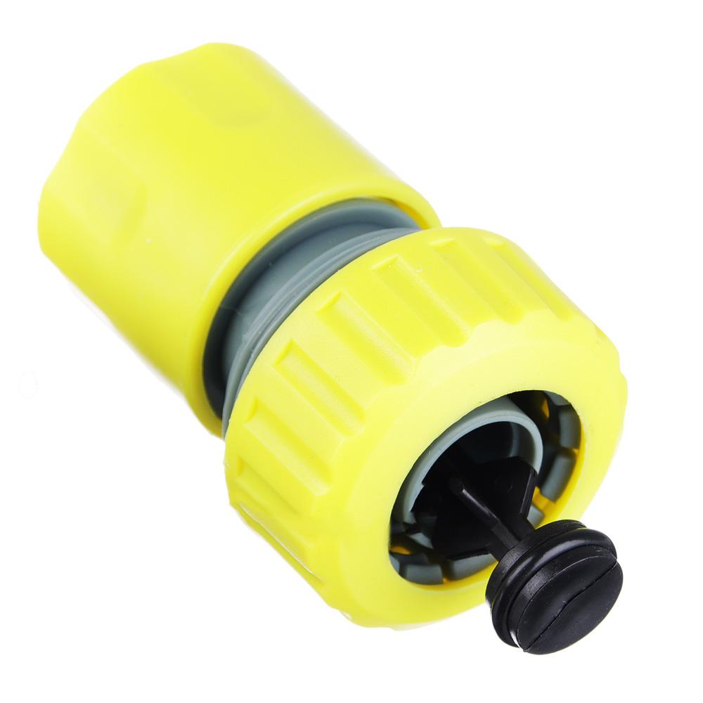 """INBLOOM Коннектор для шланга d3/4"""" с аквастопом 6х4,5х4,5"""
