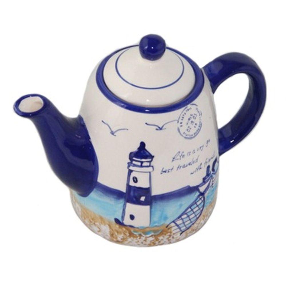 Маяк и море Заварочный чайник