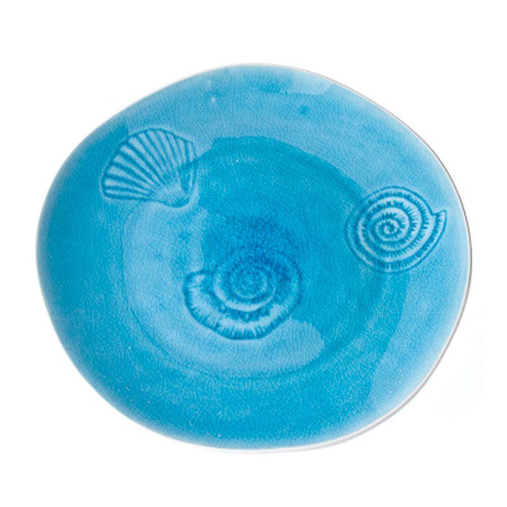 La Mer Блюдо 26см, голуб., керамика