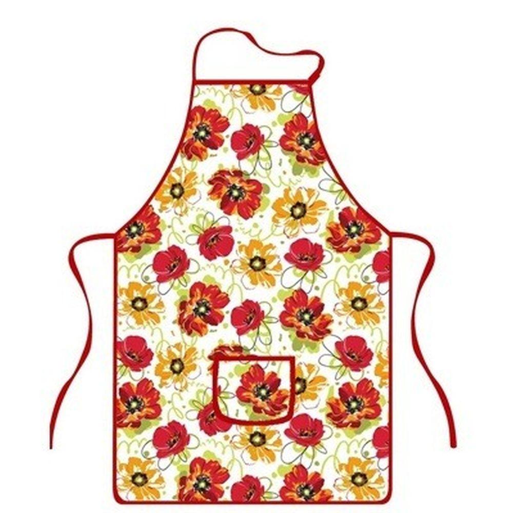 VETTA Kitchen Фартук, хлопок 100%, 51х76см, Color flower