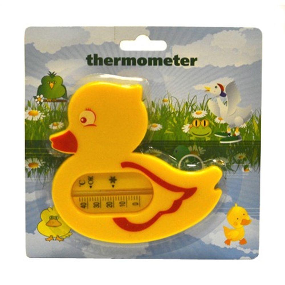 INSALAT Термометр для воды Лягушка/Уточка, пластик, микс, блистер