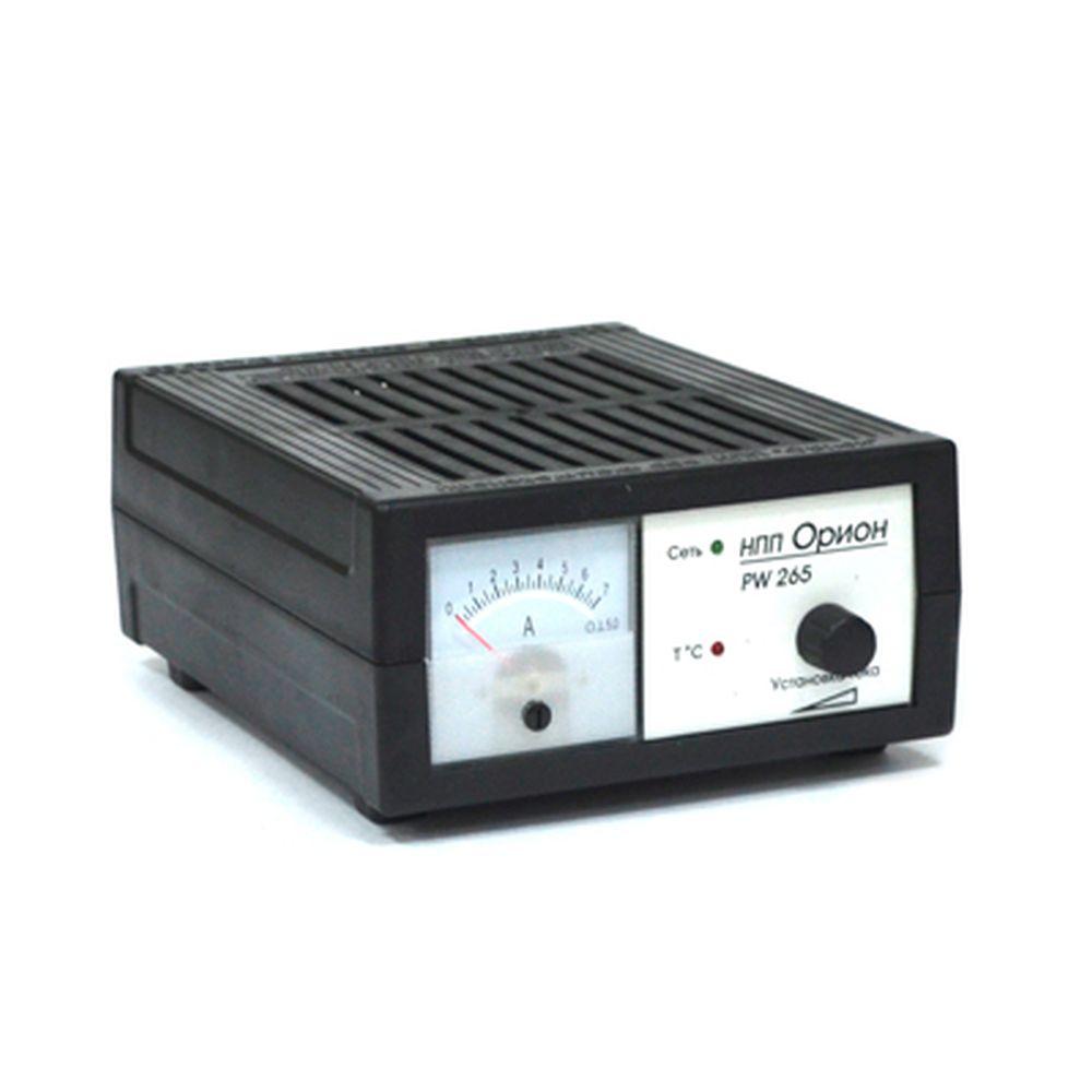 ОРИОН Зарядное устройство PW265 0,6-6А стрелочный индикатор, автоматический режим