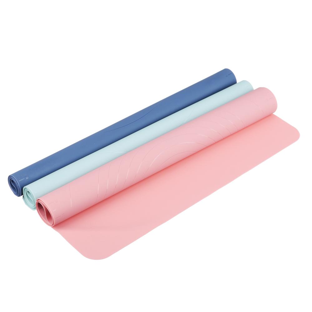 Коврик силиконовый для раскатки теста VETTA, 50х40 см, 3 цвета