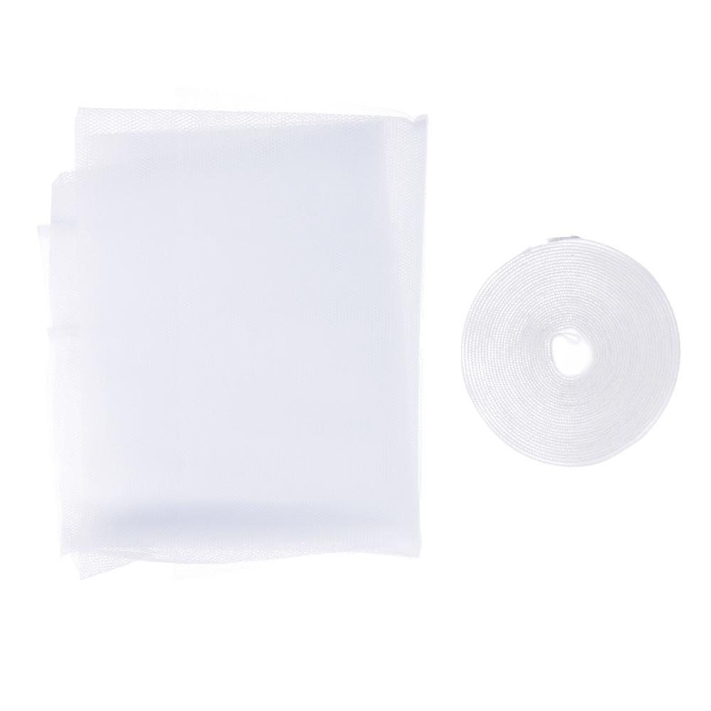 Москитная сетка для окон с крепежной лентой, 1,5х2 м, в пакете, 37х17х2