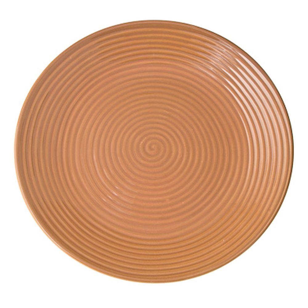Cuba Marone Тарелка подстановочная 27см, коричневый, керамика