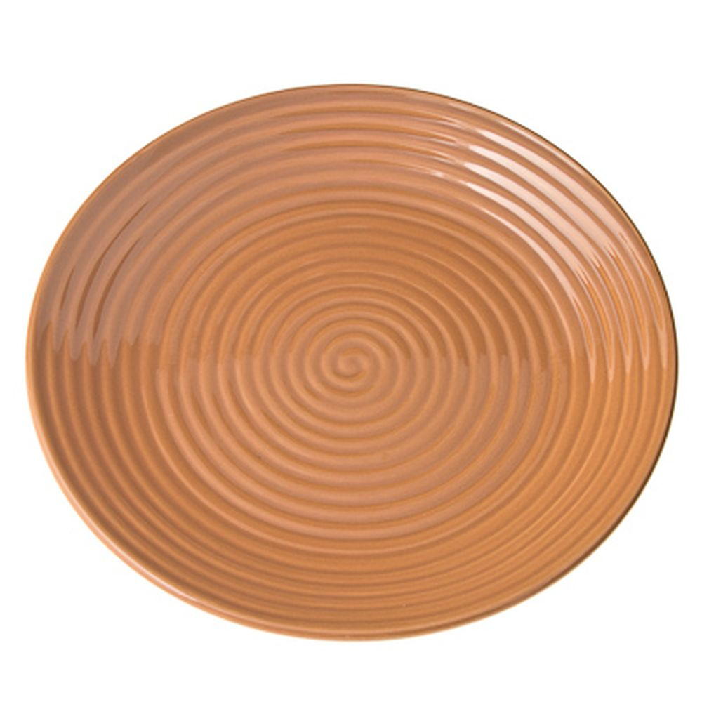 Cuba Marone Тарелка десертная 19см, коричневый, керамика