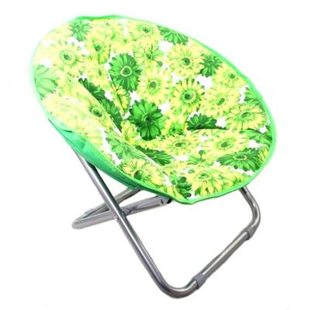 "Кресло складное ""кемпинг"" 36х30х60см, нагрузка 100кг, цвет лайм"