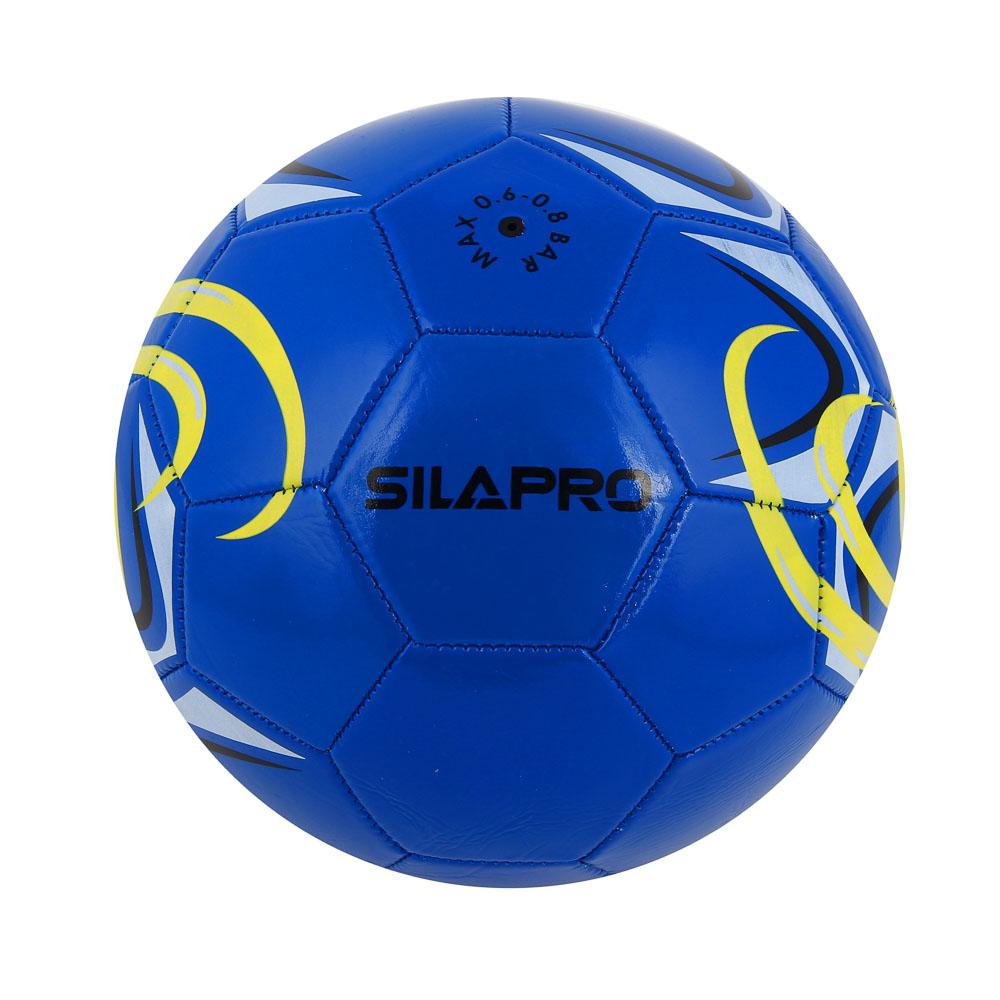 Мяч футбольный, 2 сл, размер 5, 22 см, ПВХ, 4 цвета арт. 001