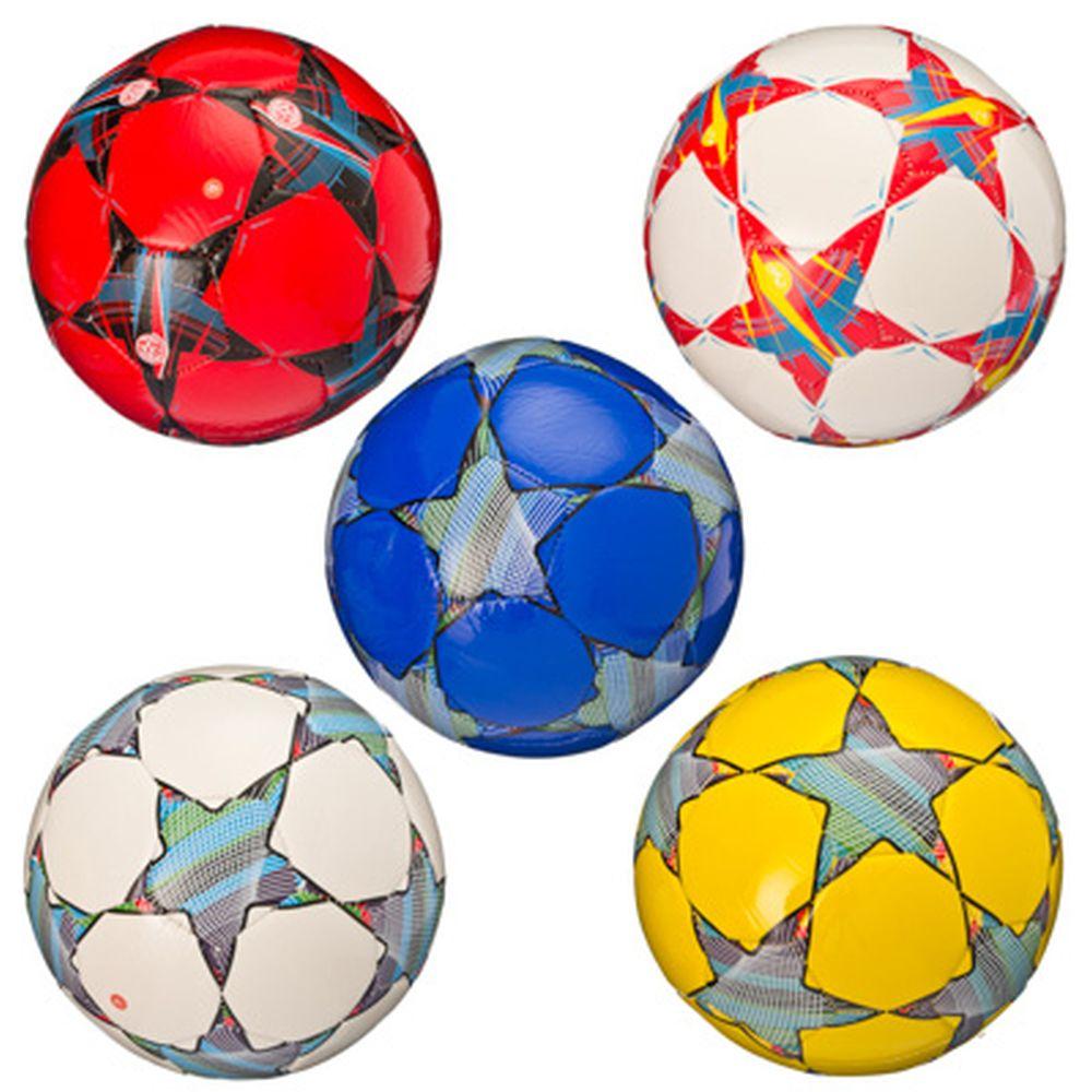 """Мяч футбольный """"New style"""", PU, 3 сл, 20см, арт.ФНС-005, 5 цветов"""