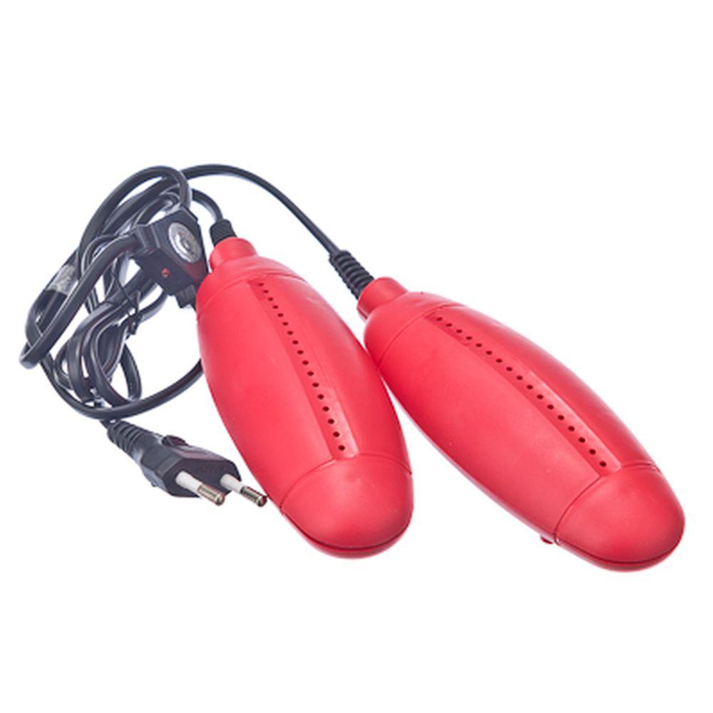 LEBEN Сушилка для обуви большая, пластик, 220В, 12Вт, температура нагрева 65-80 градусов