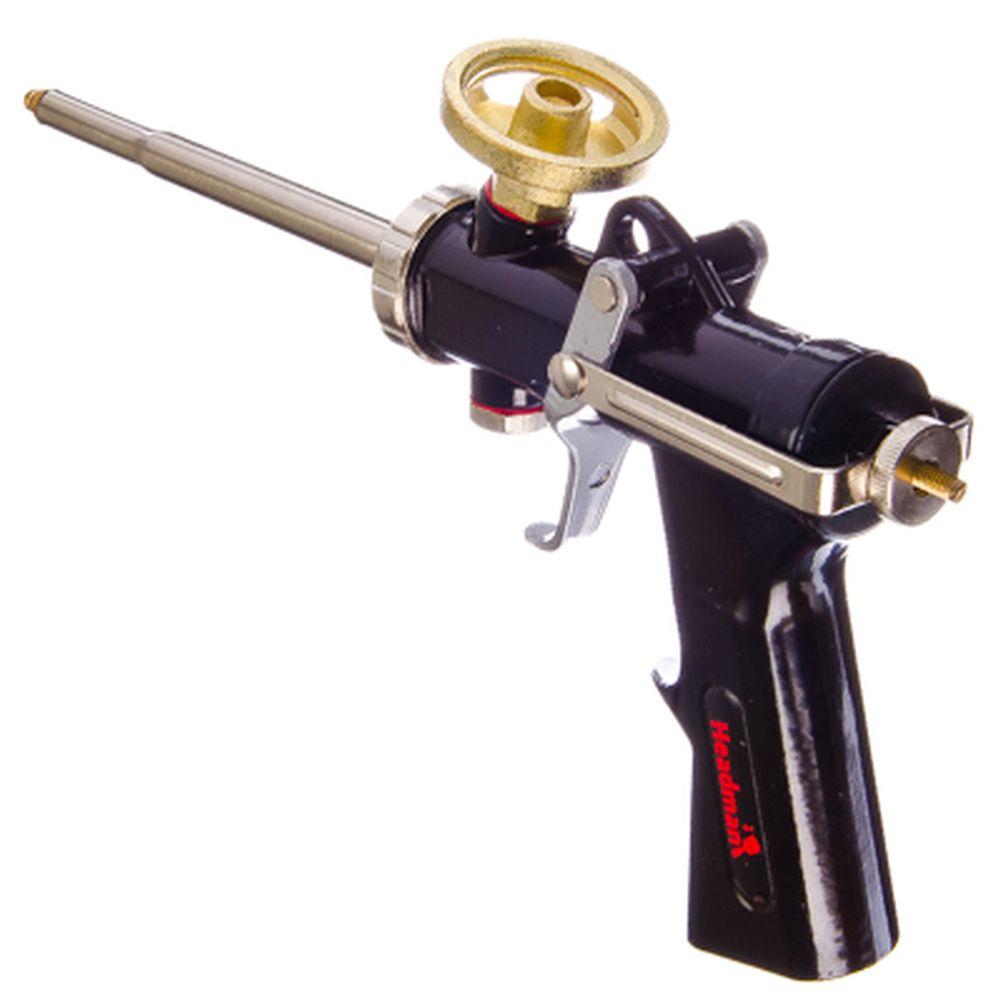 HEADMAN PROFESSIONAL TEFLON Пистолет для монтажной пены (баллоны, бочки)